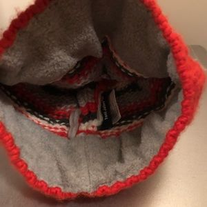toni sailer Accessories - Toni Sailer red crystal beanie